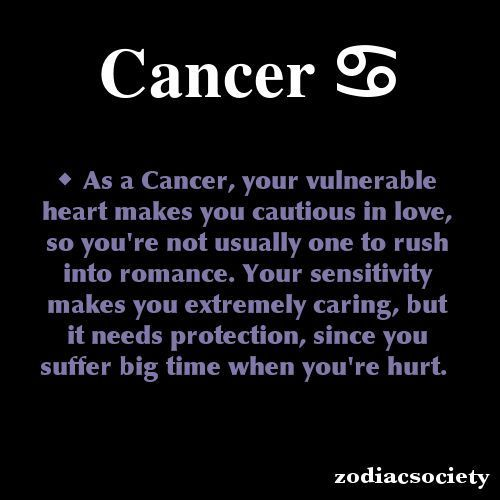 Quotes About Cancer Zodiac. QuotesGram