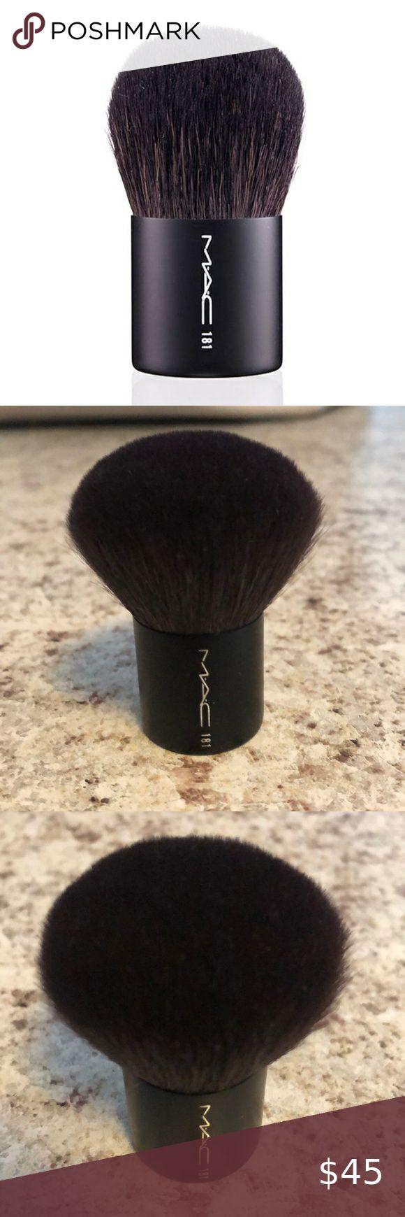NWOB MAC 181 Small Buffer Brush in 2020 Basic makeup kit