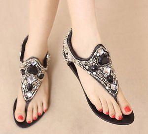 glitter flip flops for women | eBay
