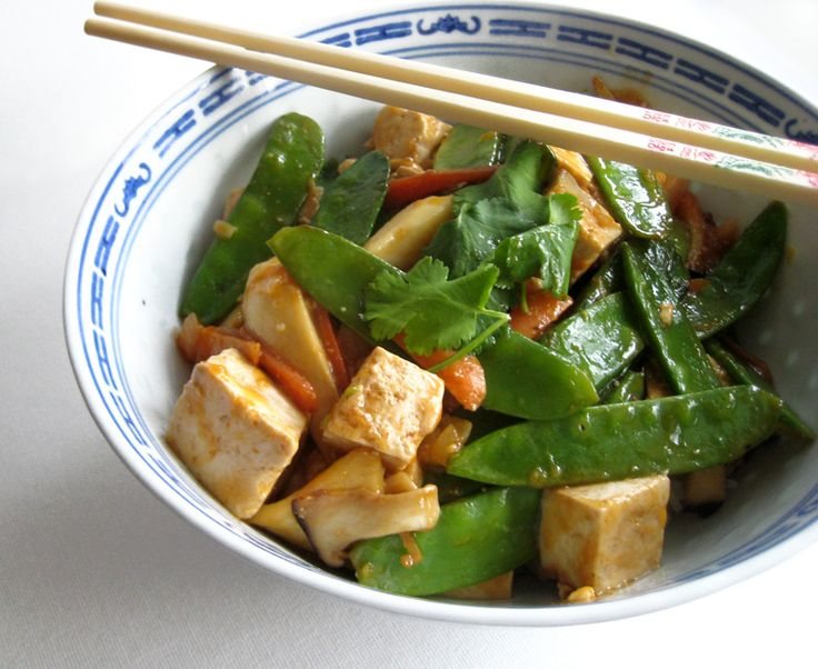 Tofu stir fry | Vegetarian Dinner Recipes | Pinterest