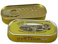 la Quiberonnaise - Sardines à l'huile d'arachide