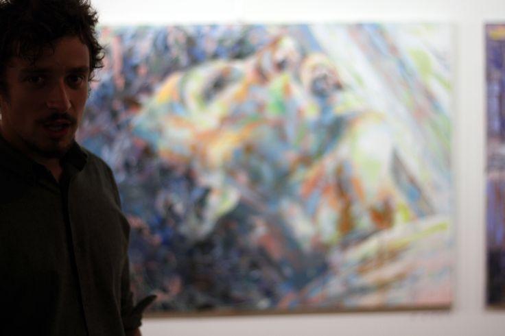 """""""Homicide"""", 115x144cm, Acrylique sur toile, Paris 2013  http://henrilamy.fr/La-Desoeuvre"""
