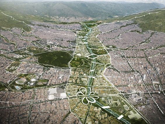 URBAN CURRENT[S] | Medellin Colombia | Land+Civilization Compositions, Taller 301 & openfabric