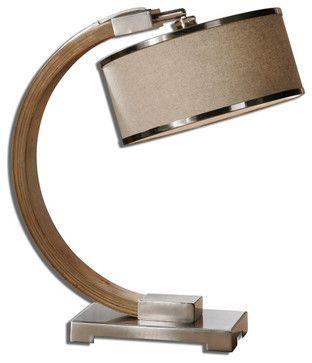 Metauro Wood Desk Lamp mediterranean-desk-lamps