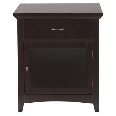 1 Drawer Nightstand - http://delanico.com/nightstands/1-drawer-nightstand-589435492/