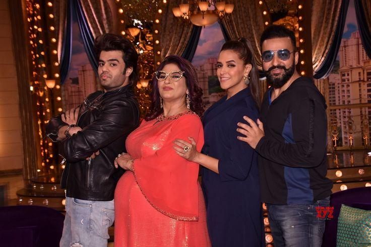 """Mumbai:""""Aunty Boli Lagao Boli"""" Manish Paul, Archana Puran Singh, Neha Dhupia and Raj Kundra - Social News XYZ"""