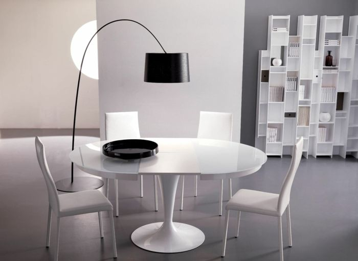 glas esstisch zum ausziehen beste bild der eeedfbafdbdeccebedaf round dining tables dining room tables