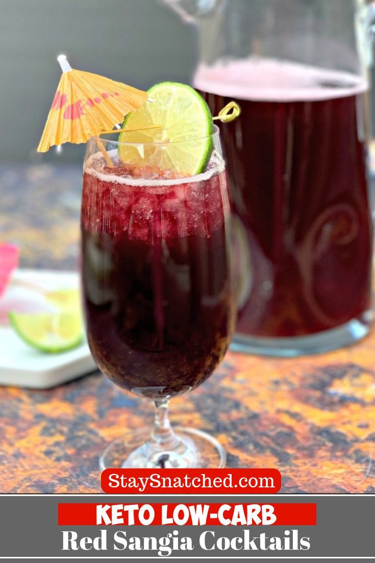 Easy Keto Low Carb Red Sangria Wine Cocktails Are The Best Healthy Skinny Drink Perfect For Sugar Free Alcoholic Drinks Fruity Drink Recipes Sugar Free Drinks