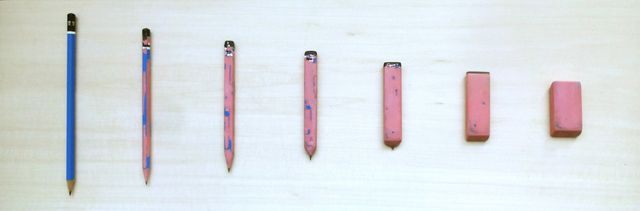 Martí Cormand, Meeting Point: Pencil/Eraser HB @artsy