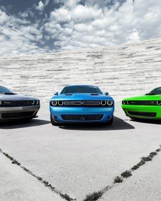 2015 desafiador de Dodge Cars Fundo para 640x960