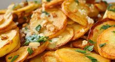 Sarlat potatoes or pommes de terres Sarladaises, a delicious dish from the south of France. Authentic, simple, easy to make recipe from France... scrummy!