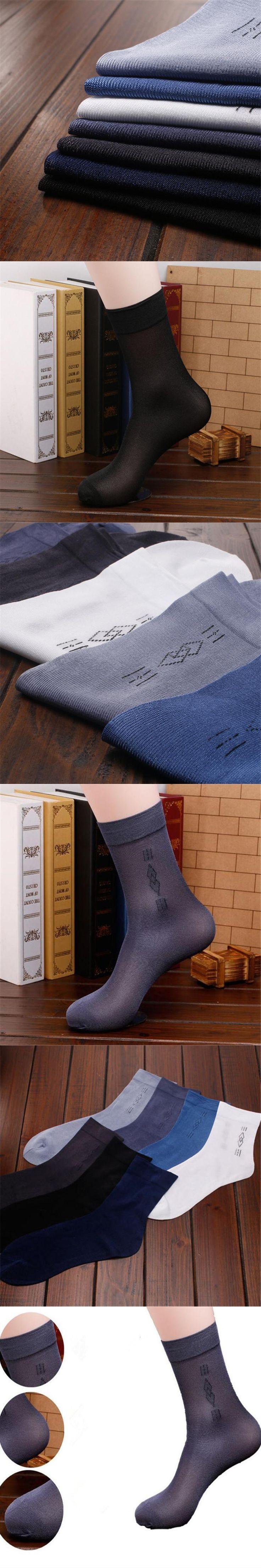 Men Socks New Styles Men's Dress Socks Silk Socks FT108