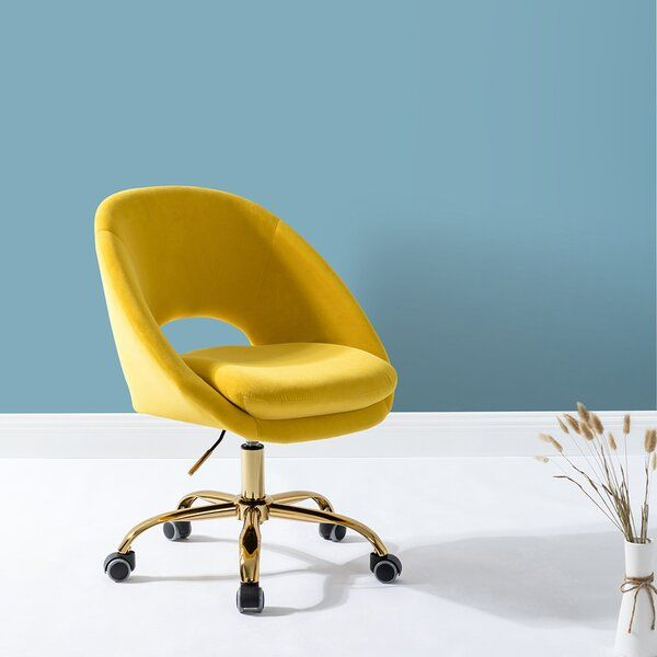 Everly Quinn Penney Task Chair Wayfair Task Chair Yellow