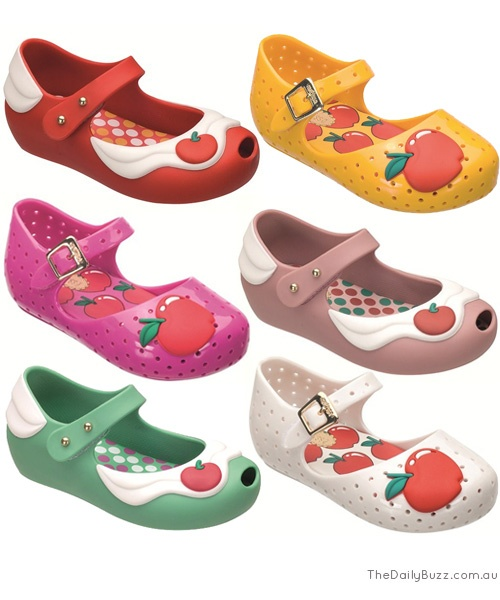 Melissa Australia - Mini Melissa Shoes - Ultragirl Cherry and Furadinha...if i had a girl...