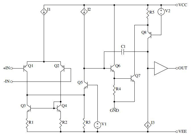 This article introduces an amplifier topology which uses a novel push-pull transimpedance stage that offers a substantial improvement in power supply rejection over standard amplifier configurations, as well as addresses secondary slew rate limits and reduces sensitivity to loading from the output buffer.