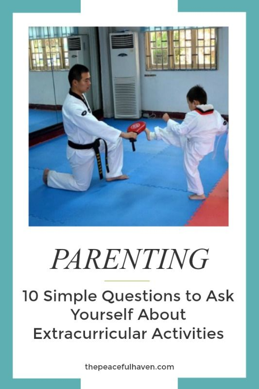 Simplify your life with these 10 Simple Questions to Ask Yourself About Extracurricular Activities!