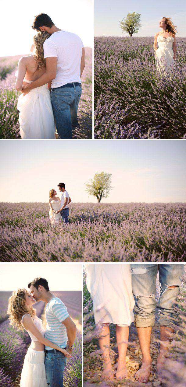 Verlobung im Lavendelfeld bei Andrea und Markus Photography http://www.hochzeitswahn.de/love/province-verlobungsshoot-bei-andrea-marcus-photography/ #lavendel #love #shooting