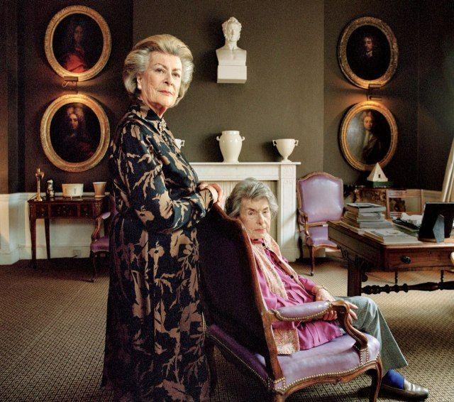 Patricia Knatchbull, 2nd Countess Mountbatten of Burma Lady Pamela Mountbatten Hicks and her older sister