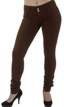 Voel je mooi en gewenst met de Shaping Butt Lift broek. Deze broek accentueert je rondingen rond de billen, taille en dijen. #kadehandel #trendyleggingsfashion #broek #corrigerende #bruin