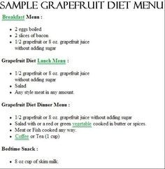 Low Carb on Pinterest | Grapefruit Diet, Mayo Clinic Diet and Egg Fast
