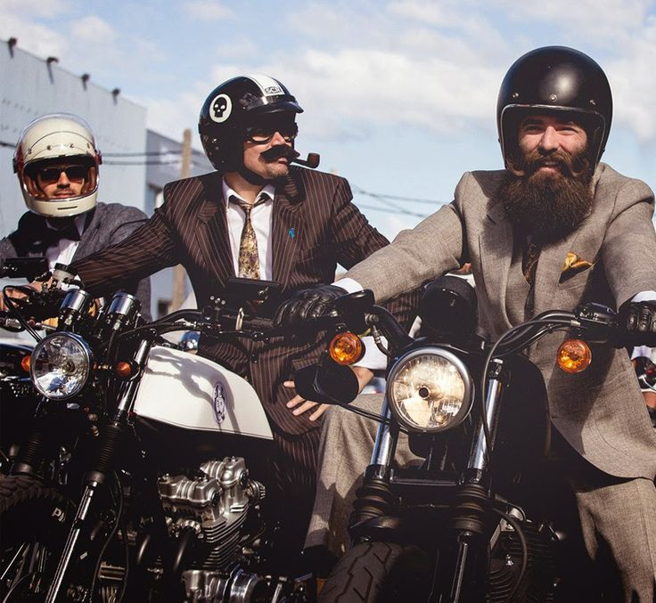 The Distinguished Gentlemen's Ride #lifestyle #motorcycles #motos | caferacerpasion.com