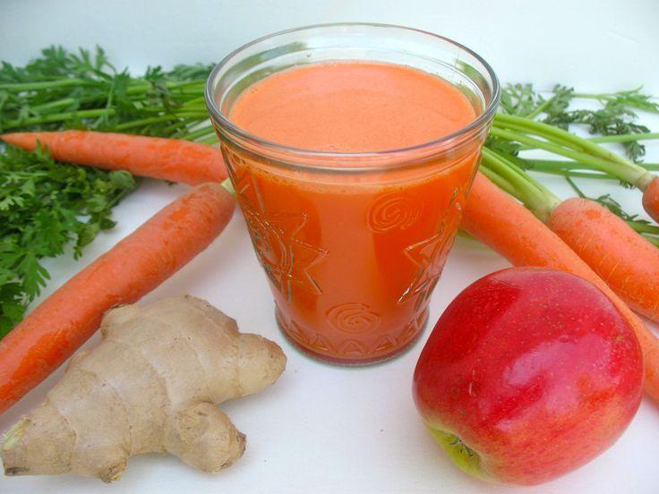 juicer recipes | Carrot, Apple and Ginger Juice Recipe | Juicer Depot (http://juicers-best.com/blogs/juice-recipes/tagged/ginger-juice-recipe)