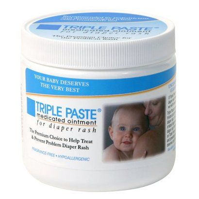 Triple Paste Diaper Rash Ointment - 10.0 oz. - the best diaper rash cream I've found... She had a rash starting on her sensitive bum and put this on and by morning it was completely gone. It's wicked expensive but worth it... buy it at Target!! Cheapest place I've found by FAR!!