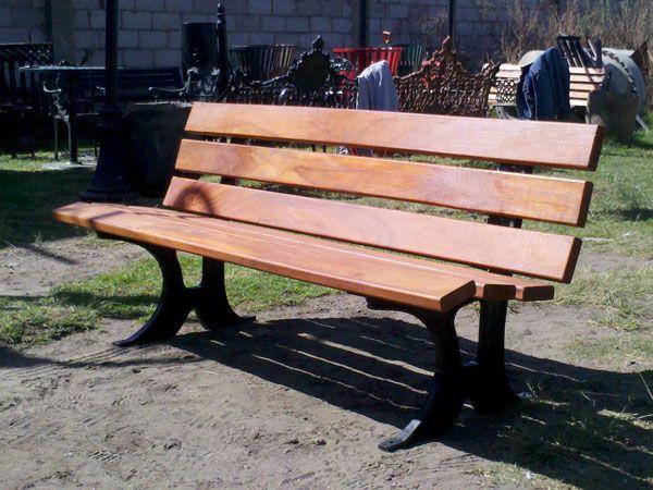 1000 images about bancas para parque y jardin on for Bancas de madera para jardin