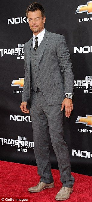 grey suit idea for the big day but aside from that, josh josh josh, boy oh boy<3