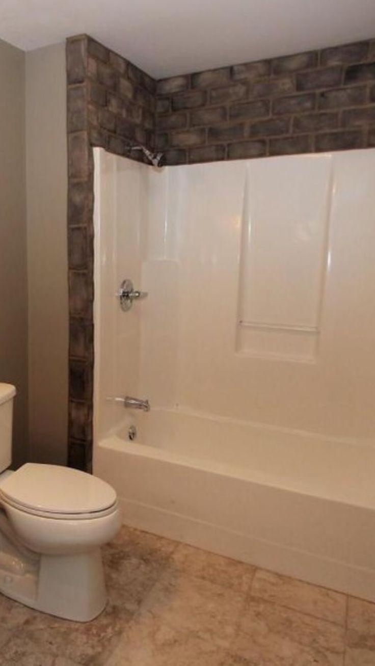 Tile Around Fiberglass Tub Surround Tub Remodel Bathtub