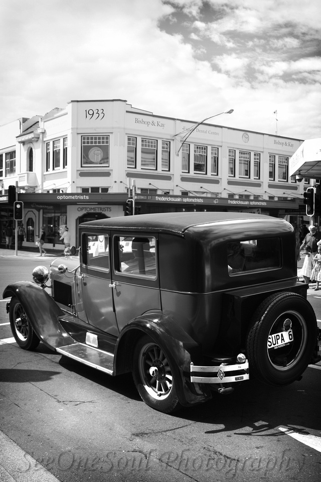 Taken at Napier's 2013 Art Deco Weekend ... like being transported back in time!