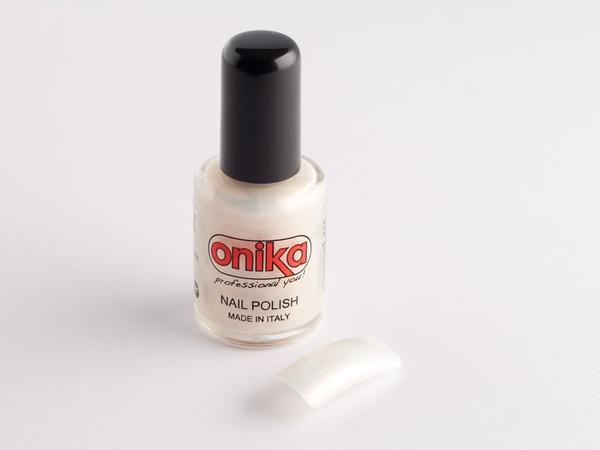 Smalto per unghie bianco perlato - 10 ml.