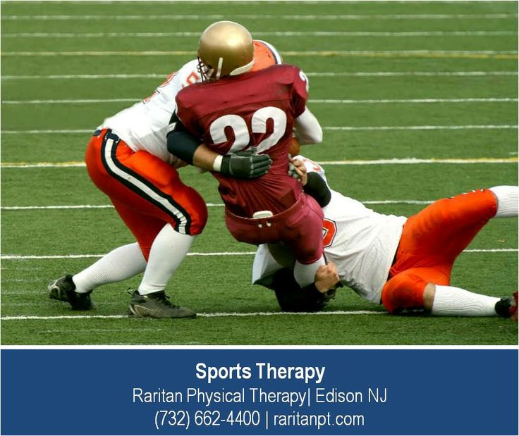 http://raritanpt.com/sports-specific-physical-therapy –The sports therapists at Raritan Physical Therapy in Edison NJ work with professional, college and amateur athletes across many sports including football. Sports therapists working with football players see many injuries to the ankles and knees and the back and neck. Raritan Physical Therapy  has the best sports physical therapists who can provide the advanced therapy athletes need.