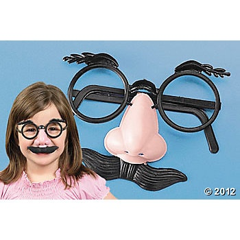 Nose, Eyebrows & Moustache Glasses