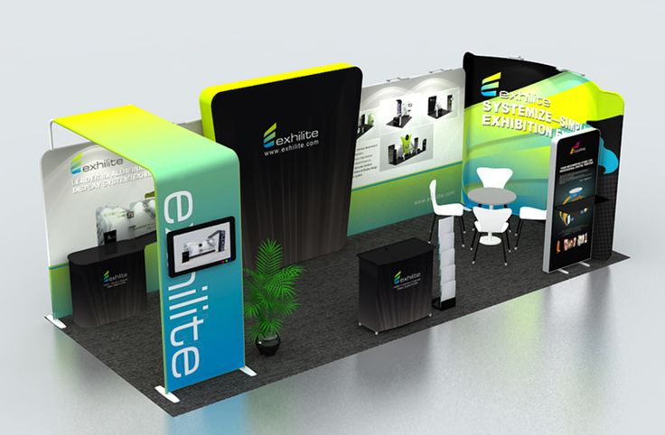 Portable Exhibition Booth Design : Portable trade show booth cool exhibition designs