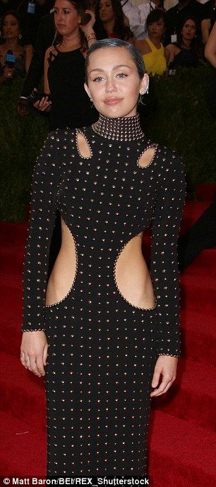Don't look now: Miley Cyrus and Patrick Schwarzenegger had an awkward moment when they ran...