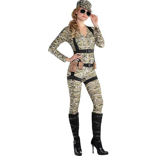 Roma 4pc Camo Lusty Lieutenant Army Military Cincher Bullet Detail Costume 4592