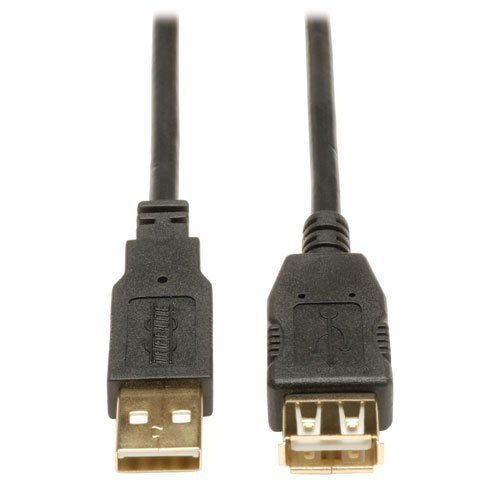 Tripp Lite U024-010 10ft USB 2.0 A/A Gold Extension Cable USB-A M/F, 10' by Tripp Lite. $3.84. From the Manufacturer                 Make the most of every inch of your workspace! This 10-ft. USB 2.0 A/A Gold Extension Cable meets or exceeds all USB 2.0 specifications and also supports faster data transfer for legacy USB 1.1 devices. The U024-010 includes gold-plated connectors and for superior conductivity and premium line-noise filtering. Unlike cut-price cables, the...
