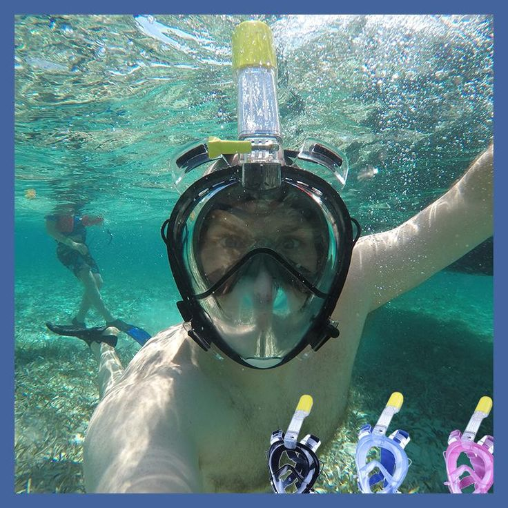 2017 Underwater Diving Mask Scuba Full Face Snorkeling mask Respiratory waterproof Swimming Snorkel training masks http://www.deepbluediving.org/suunto-vyper-dive-computer-review/