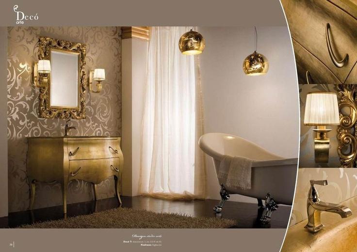 Stylová koupelna od Arte Bagno Veneta, kompletní nabídku této značky naleznete na našich stránkách: http://www.saloncardinal.com/galerie-arte-bagno-veneta