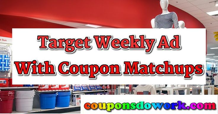 Target Weekly Ad with Coupon Deals: Week of 12/4 - http://couponsdowork.com/target-weekly-ad/target-weekly-ad-with-coupon-deals-week-of-124/