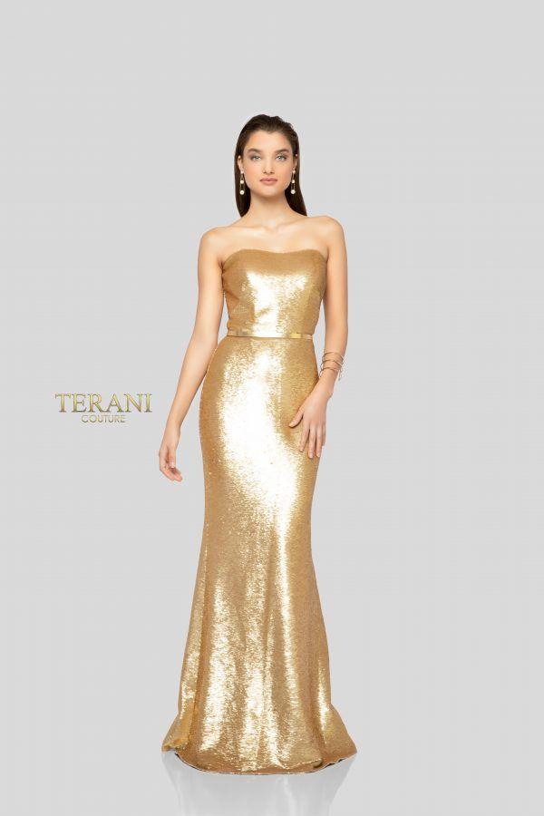 Senior Leather Prom Dress