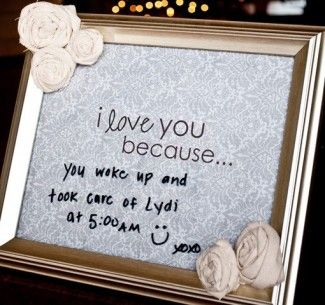 Simple Ways To Tell Your Spouse I Love You! & Link Up Party   wednesday rant gift ideas for my husband    saying i love you pinterest i love you gift ideas    Unveiled Wife