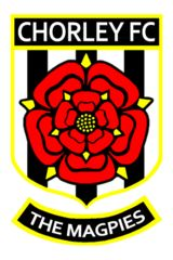 Chorley Football Club are a football club from Chorley, Lancashire, England. They were founded as a rugby union club in 1875 but switched to football in 1883. They have reached the FA Cup second round twice in 1986–87 and 1990–91. Their best performance in the FA Trophy was in 1995–96 when they reached the semi-final. They will play in the Conference North for the 2014–15 season, after being promoted from Premier Division of the Northern Premier League in the 2013–14 season