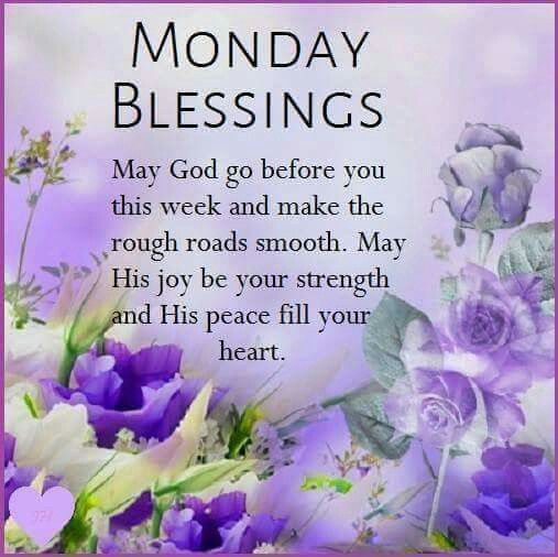 Monday Blessings   Happy Monday Blessings   Pinterest ...