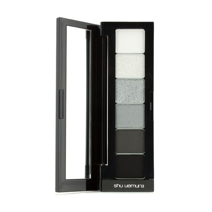 Shu Uemura - Read to Wear Набор (6x Прессованные Тени для Век) - Черный и Белый 6x1g/0.035oz