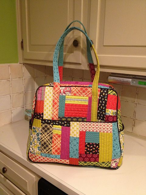 """14"""" wide across the top of the bag and 17"""" wide across the bottom x 14 1/2"""" tall  x 7 1/2"""" deep"""