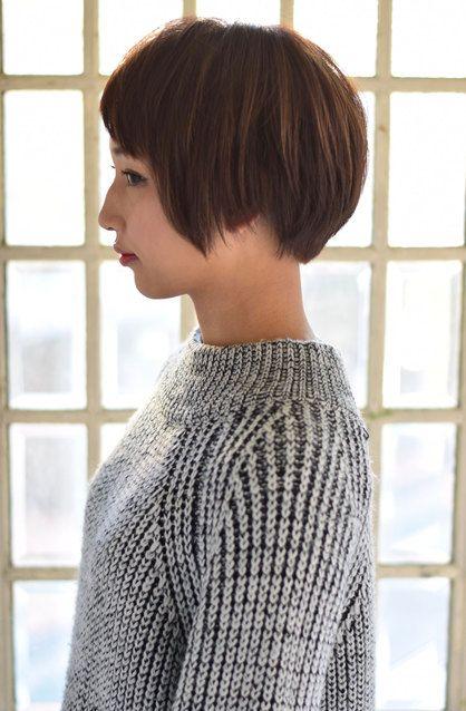 ナチュラルアシンメトリーショートマッシュ | 青山・表参道の美容室 Secretのヘアスタイル | Rasysa(らしさ)