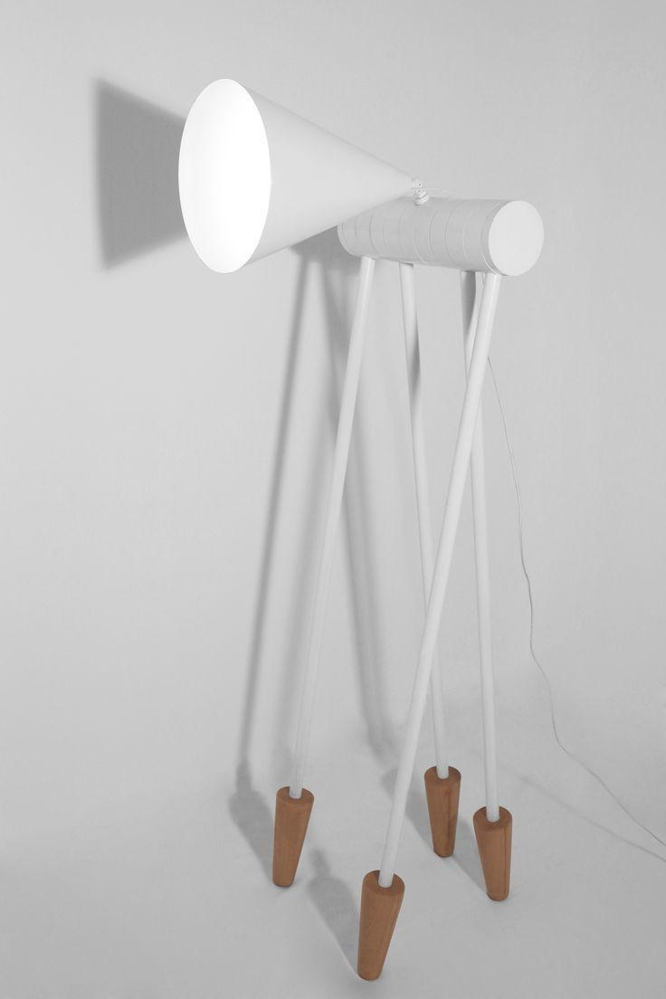 Foldy floor lamp