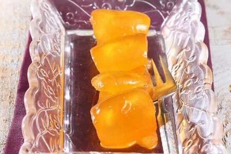 Νεραντζάκι φλούδα, γλυκό κουταλιού
